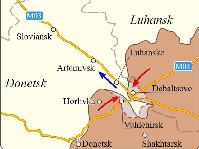 Η μάχη του Debal'tseve