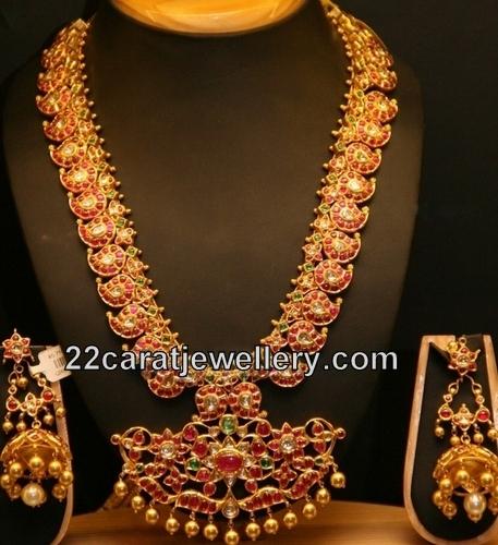 Ruby Mango Mala Jewellery Designs