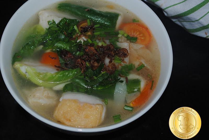 Patyskitchen Yong Tau Foo Soup