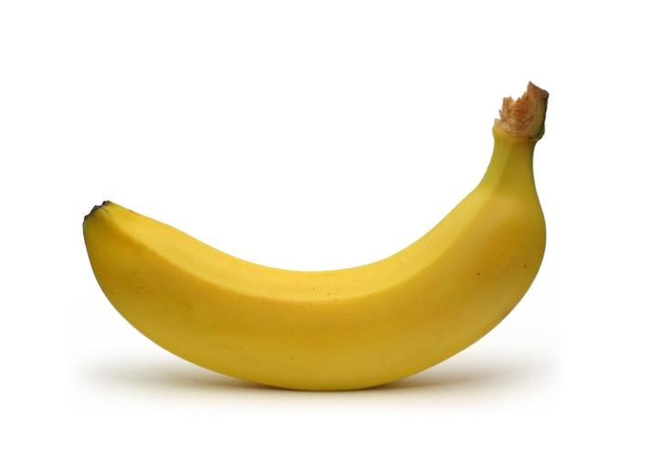 Uma banana na guerra contra os químicos na comida