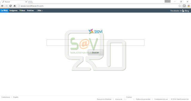 Need4search.com (Trovi Search) - Hijacker
