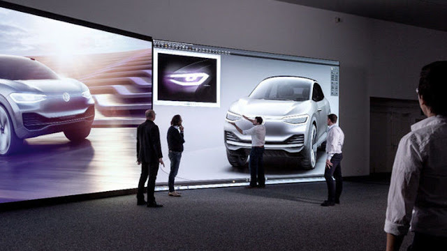 Volkswagen Design Focuses on Working Digitally