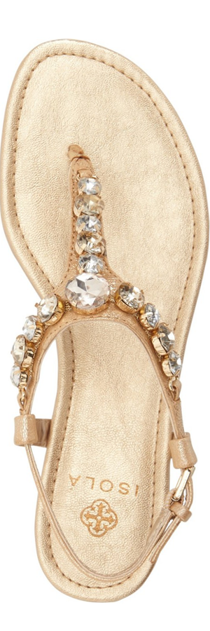 Isolá 'Monica' Crystal Embellished Sandal