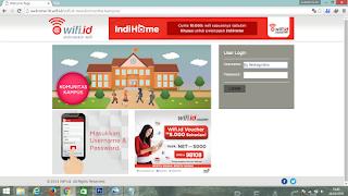 Akun Wifi id kampus @uht masih work
