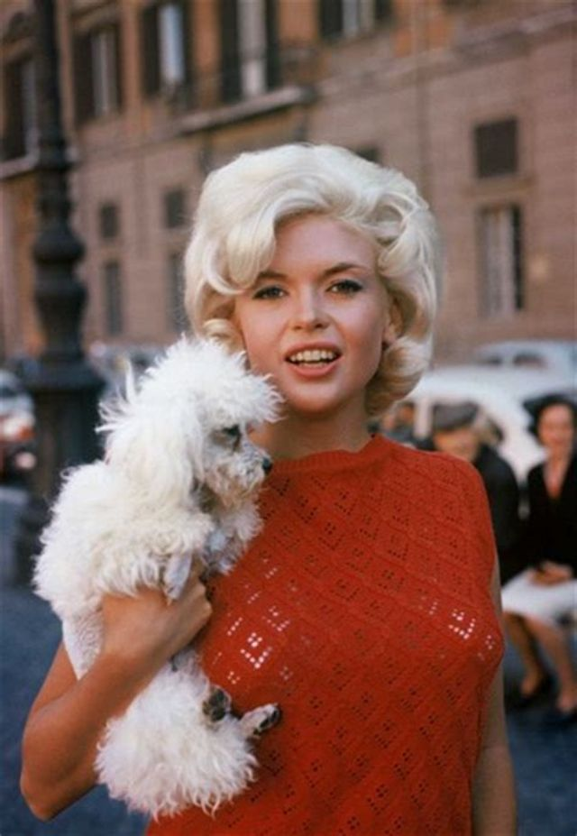 35 glamorous photos show that jayne mansfield looking so for Hp motors mansfield pa