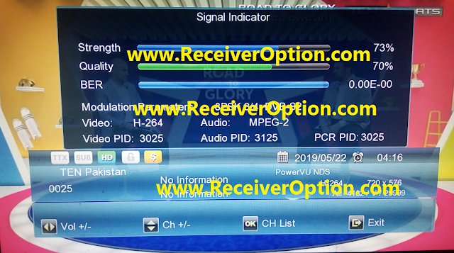 GOLDSAT GX TYPE HD RECEIVER POWERVU KEY SOFTWARE NEW UPDATE