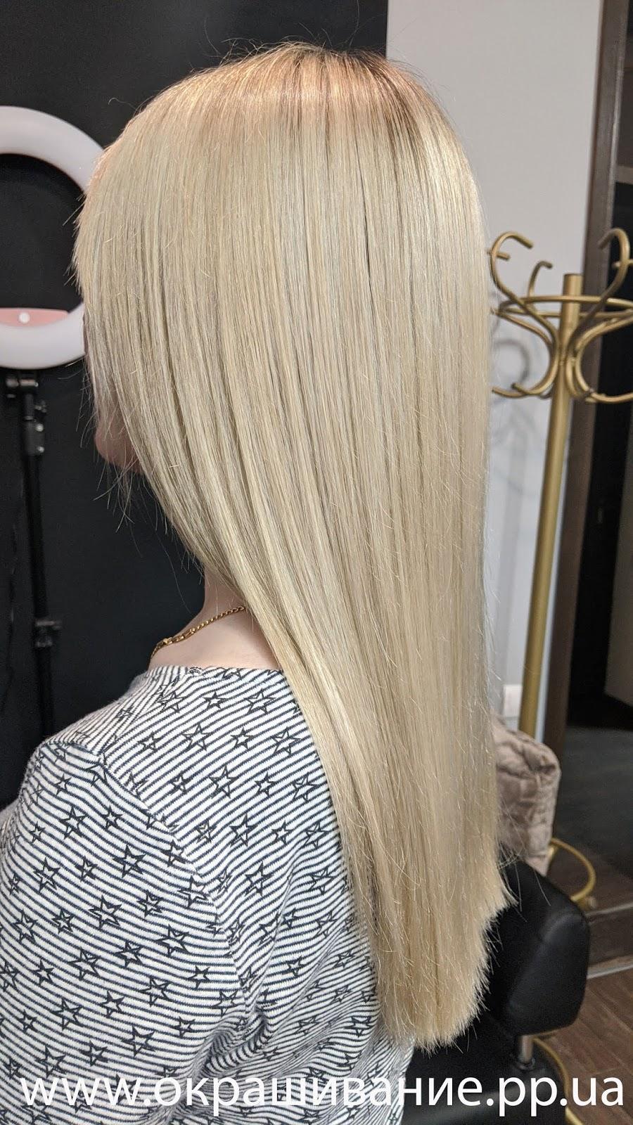 Красивая покраска на средние волосы