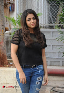 Actress Wamiqa Gabbi Latest Pictures in Ripped Denim Jeans  0004.jpg