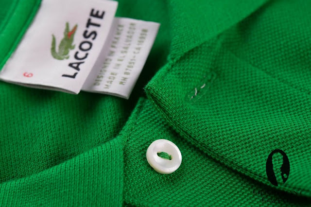 comfortable with Lacoste t shirt