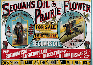 Vintage advertisement poster