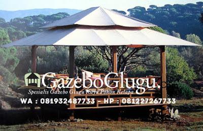 Gazebo Minimalis Kanvas