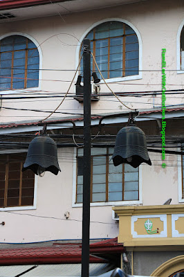 street lamps, san augustin church, Intramuros, Manila, Philippines