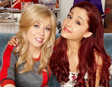 Sam (Jenette McCurdy) e Cat (Ariana Grande) - Divulgação