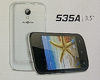 Flashing Advan S35A