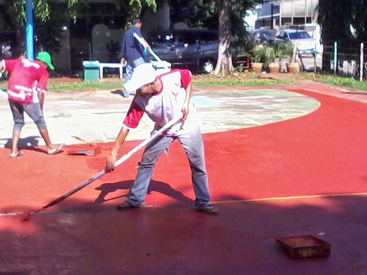 Harga Pengecetan lapangan basket | Futsal | Tenis