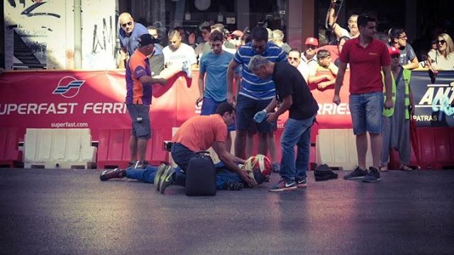 Τρομακτικό ατύχημα σε αγώνα καρτ στην Πάτρα (βίντεο)