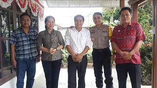 Kabag Ops Polres Minsel Tinjau Pengamanan Kantor KPU Dan Bawaslu Minsel