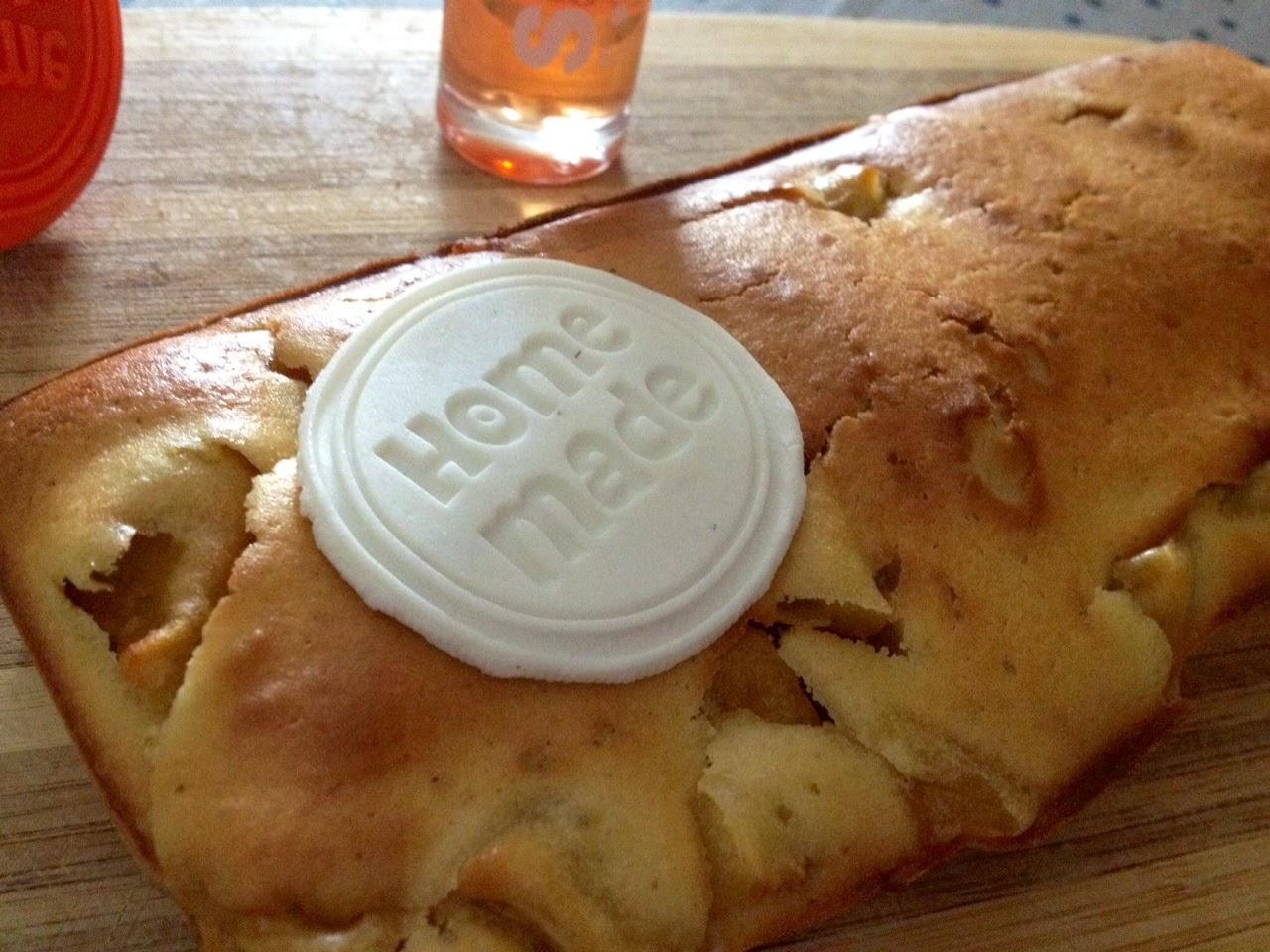 Cake pomme d'amour - recette
