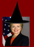 Hillary Clinton witch,