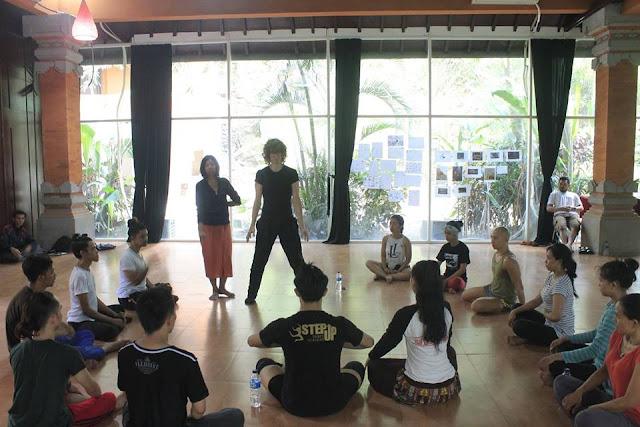 Workshop Indonesian Dance Festival 2016-teraSeni