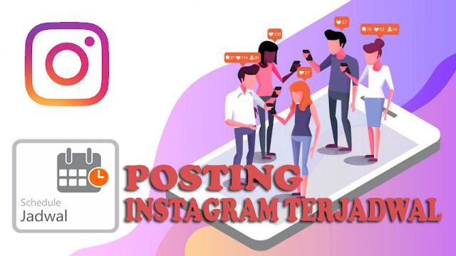 Cara Posting Intagram Secara Terjadwal di iPhone