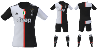 the best attitude 5dce8 1d11e PES 2019 Juventus Kits 2019/2020 by tekask1903 ~ Game Plus Patch