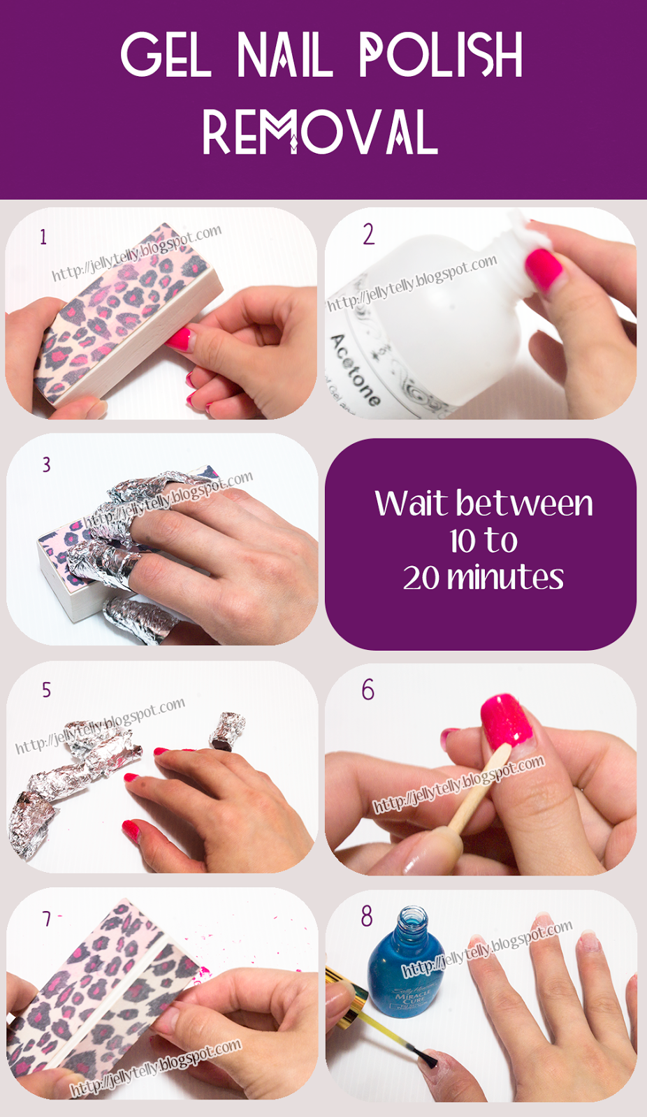 Puzzle Of Life: [Tutorial] Gelish Removal