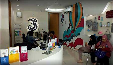 Alamat & Nomor Telepon 3 (Tri) Store Kota Bogor