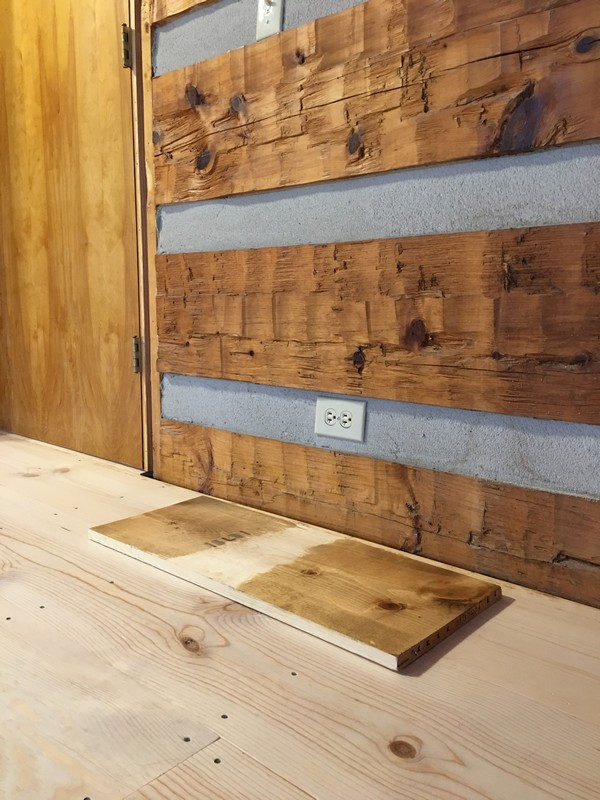 DIY Wide Plank Pine Floors Finishing | Staining