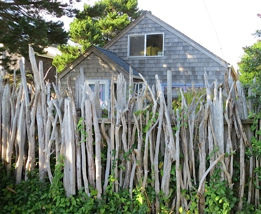 Driftwood Cottage Fence