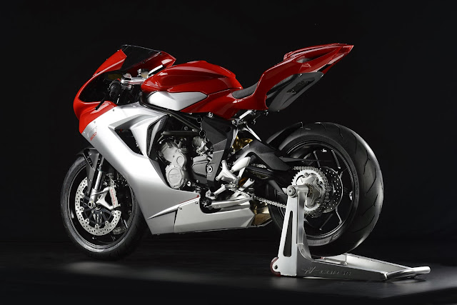 MV Agusta F3 800 2014 - Persis Ferrari Dua Roda