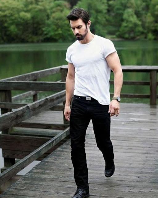 look masculino basico