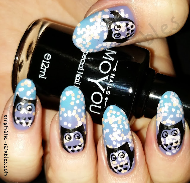 owl-nail-art-nails