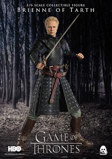Brienne de Tarth 1/6 de A Game of Thrones - Threezero