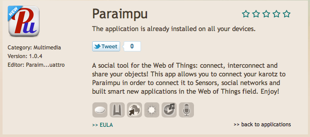 Tutorial, How to use your Karotz rabbit with Paraimpu