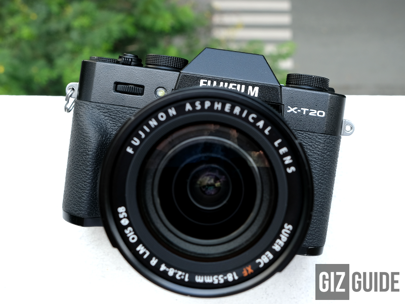 X-T20 Black with XF 18-55 F2.8-4 Kit Lens!