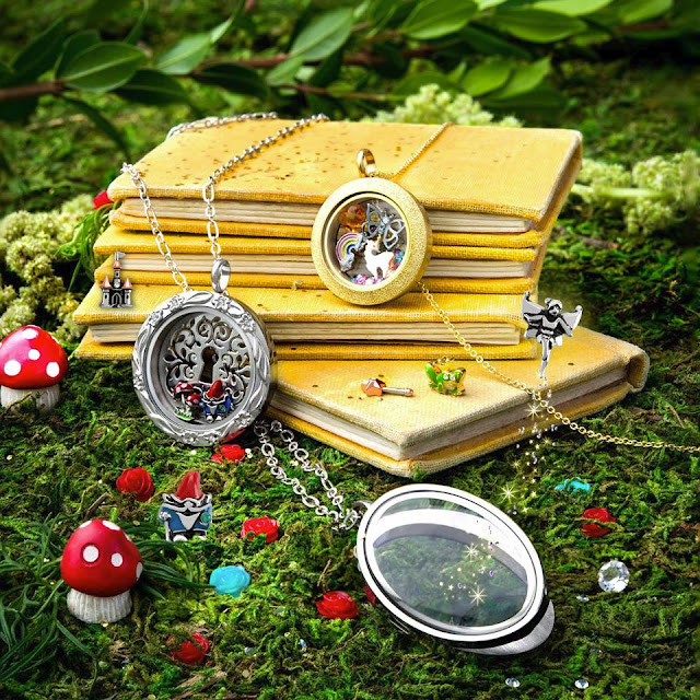 Perfect Storybook Fairy Tale Origami Owl Living Lockets available at StoriedCharms.com