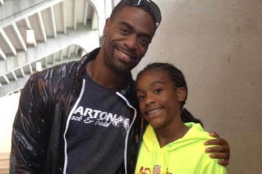 Photos: US Olympic sprinter Tyson Gay's 15-year-old daughter killed in shootout at a restaurant
