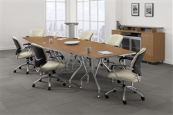 Global Total Office Bungee Series Tables