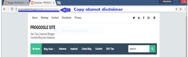Cara Membuat Disclaimer dan Privacy Policy Blog 05.png