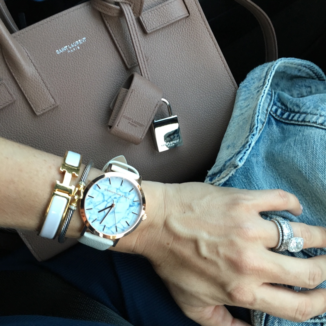 hermes and saint laurent