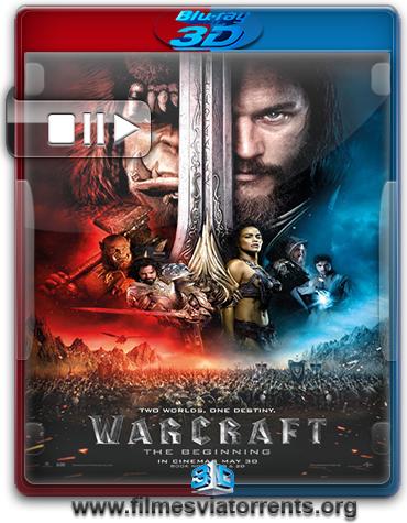 Warcraft: O Primeiro Encontro de Dois Mundos Torrent – BluRay Rip 1080p 3D HSBS Dublado 5.1 (2016)