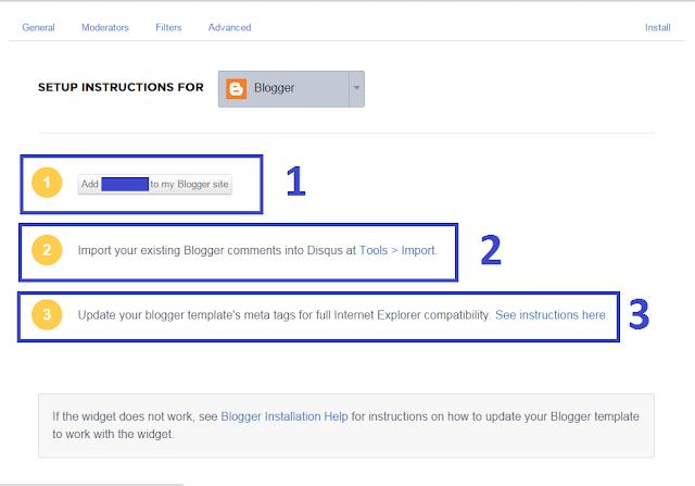 Panduan Install Disqus ke Blog