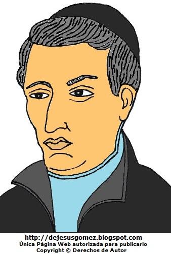 Dibujo de Toribio Rodríguez de Mendoza  para dibujar a color. Imagen de Toribio Rodríguez de Mendoza hecho por Jesus Gómez