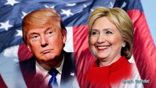 ABD'de tarihi seçim Hillary Clinton Donald Trump