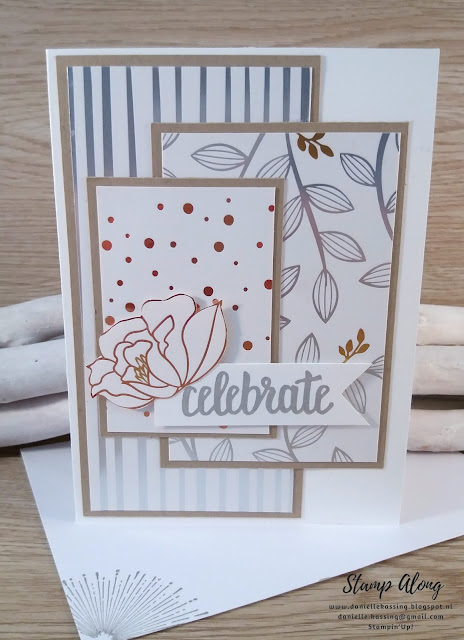 Stampin'Up! Springtime Foils Specialty DSP, Sale-A-Bration
