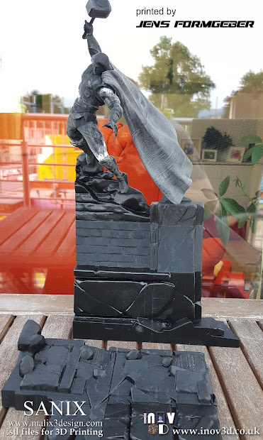 Deadpool 3d Print Diorama - Year of Clean Water