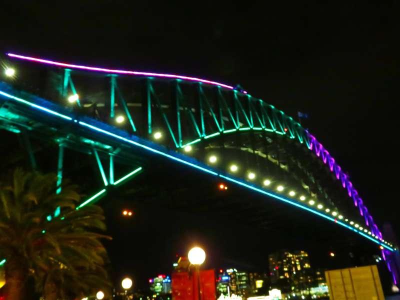 Vivid Sydney The Harbour Bridge