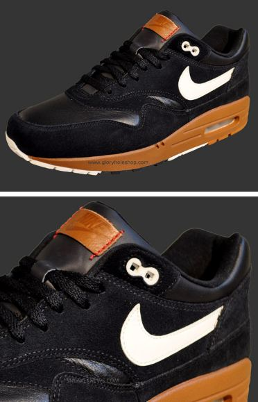 new product d73ea f07d5 ... Nike Air Max 1 Premium Sneaker in Black  Brown  White set to release in  May 2012, what do you all think of these kicks right here