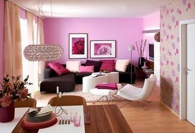 fotos de salas color rosa salas con estilo